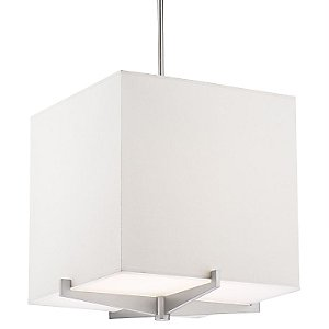 Fisher Island Square Foyer Pendant by Forecast Lighting