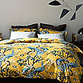 Peacock Duvet Set by DwellStudio