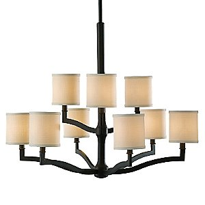 Stelle 2-Tier Chandelier by Murray Feiss
