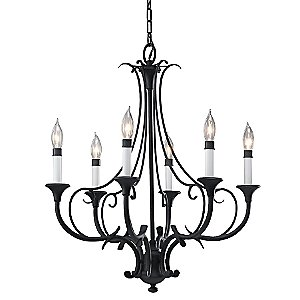 Peyton 6-Light Chandelier by Murray Feiss
