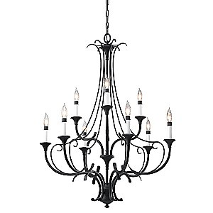 Peyton 2-Tier Chandelier by Murray Feiss