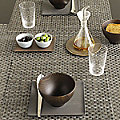 Kono Set of 4 Tablemats by Chilewich