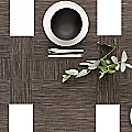 Bamboo Set of 4 Square Tablemats by Chilewich