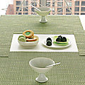 Basketweave Set of 4 Tablemats by Chilewich