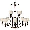 Dunhill 2-Tier Chandelier by Hinkley Lighting