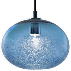 Ellipse Bubble Pendant by Caleb Siemon