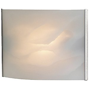 Pannelli Wall Sconce with Glass Options by Alico