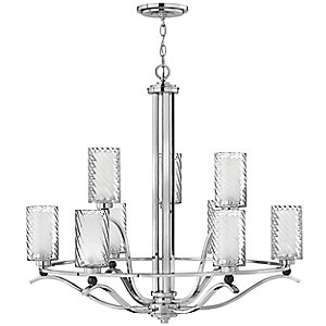 Tides 2 Tier Chandelier by Hinkley Lighting