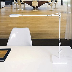 Kelvin LED Task Lamp with Table Base by Flos