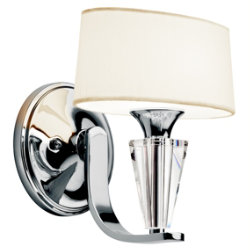 Crystal Persuasion Wall Sconce by Kichler
