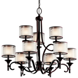 Lacey 2-Tier Chandelier by Kichler