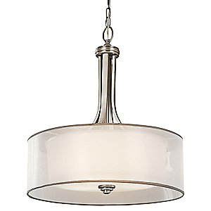 Lacey Drum Pendant by Kichler