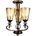 Roma Notte Chandelier and Flushmount by Kichler