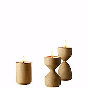 Totem Set of 3 Votive Holders by MoMA