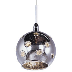 Starburst Mini Pendant - Mirror Chrome by ET2