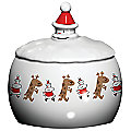 Let it Snow Cookie Jar by Alessi
