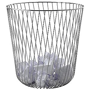 A Tempo Waste Basket by Alessi