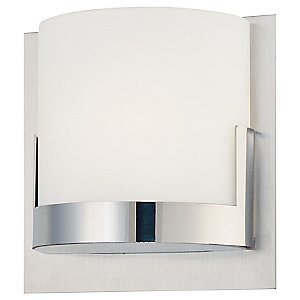 Convex Wall Sconce No. P5952 by George Kovacs