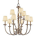 Jefferson 2-Tier Chandelier by Hudson Valley