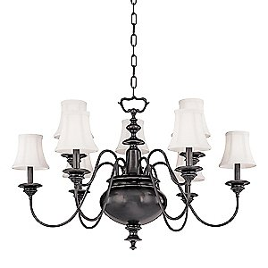 Yorktown Chandelier by Hudson Valley