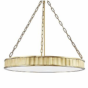 Middlebury Round Pendant by Hudson Valley