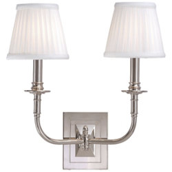 Lombard 2-Light Wall Sconce by Hudson Valley