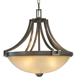 Underscore Bowl Pendant by Metropolitan Lighting
