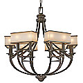 Underscore Chandelier by Metropolitan Lighting