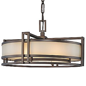 Underscore Drum Pendant by Metropolitan Lighting