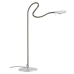 Metall F. Cooper Floor Lamp by Ingo Maurer