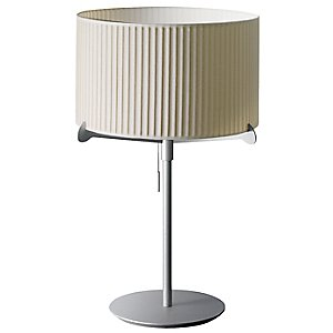 Aura Pleated Table Lamp by Carpyen