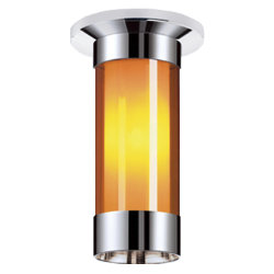 Silva LED CM Flushmount with Inner Shade by Bruck Lighting