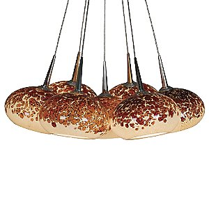 Laguna LED Bouquet Multi-Light Pendant by Bruck Lighting