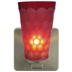 Oasis Red Quadro Wall Sconce by Oggetti Luce