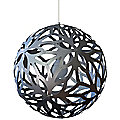 Floral Aluminum Pendant by David Trubridge Design