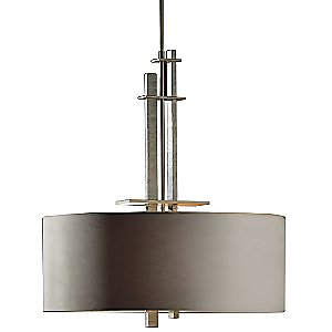 Ondrian Adjustable Drum Pendant by Hubbardton Forge - OPEN BOX RETURN