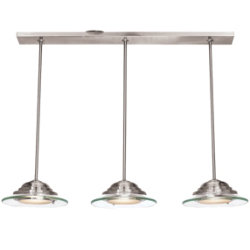 Phoebe 3-Light Pendant by Access Lighting