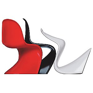Panton Chair Classic by Verner Panton with Vitra  (1959-60)
