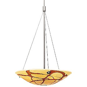 Safari Bowl Pendant by Access Lighting