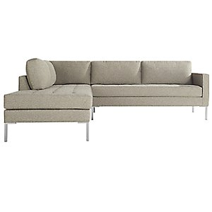 Paramount 2 Piece Left Arm Sectional by Blu Dot