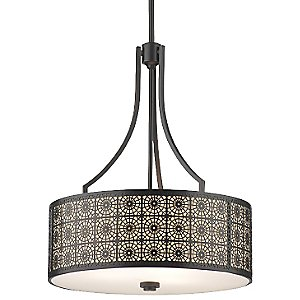 Axis Drum Pendant by Thomas Lighting