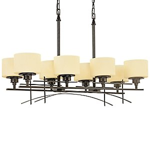 Trellis 8-Light Linear Chandelier by Thomas Lighting