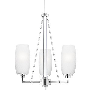 Vado 3-Light Chandelier by Thomas Lighting