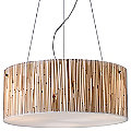 Modern Organics Drum Pendant by ELK Lighting