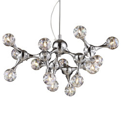 Molecular 15-Light Chandelier by ELK Lighting
