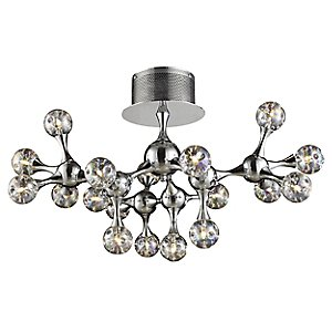 Molecular 18-Light Semi-Flushmount by ELK Lighting