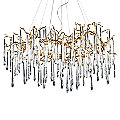Veubronce Chandelier by ELK Lighting