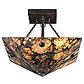 Imperial Granite Semi-Flushmount by ELK Lighting