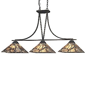 Imperial Granite Linear Suspension by ELK Lighting