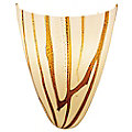 Safari Italian Art Glass Wall Sconce by Access Lighting